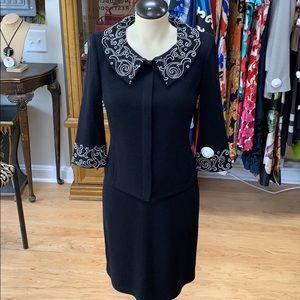 St. John's Evening dress with matching jacket